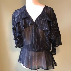 Anthropologie Plenty by Tracy Reese Striped Top